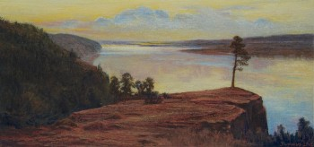 juniuswong_Above the Volga River_soft pastel (24x50cm)